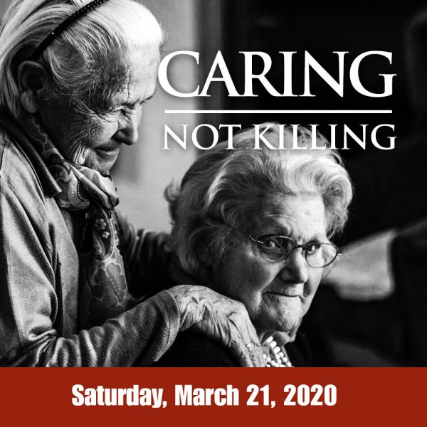Caring Not Killing event